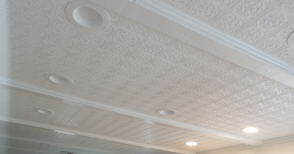 Ways to cover, renovate and fix your ugly damaged ceilings