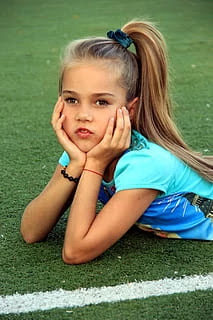Hairstyles for Little Girls - Updo Ponytail