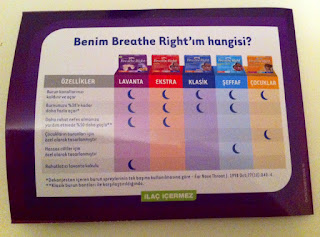 Breathe Right burun bandı
