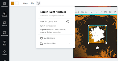 How to split one image into different frames in Canva ?