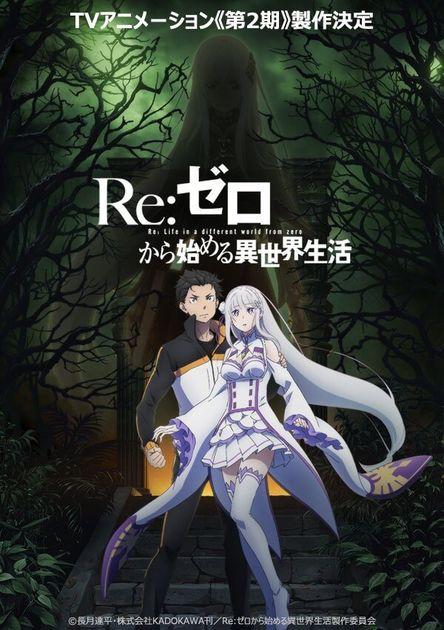 Anime Re Zero Dapatkan Season Keduanya