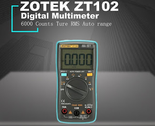 Multimeter Digital Zotek ZT102