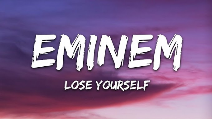 Lose Yourself Lyrics by EMINEM