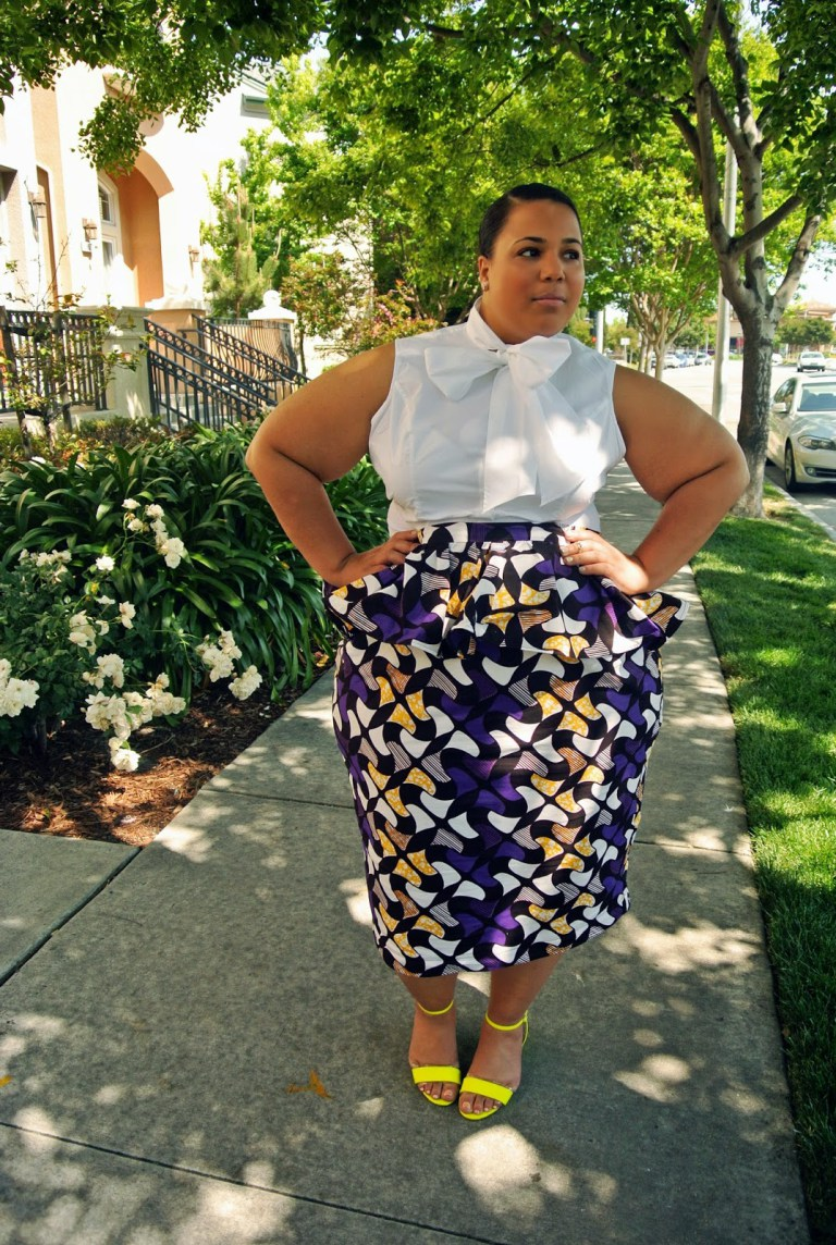 Exotic Ankara Styles For Chubby Ladies-5637