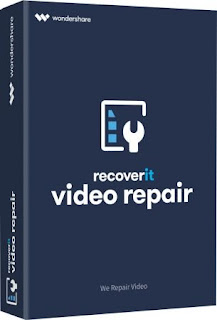 تحميل برنامج اصلاح الفيديو التالف 2020 Recoverit Video Repair