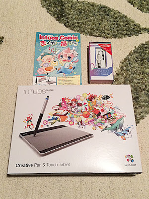 Intuos Comic Creative Pen&Touch Tablet
