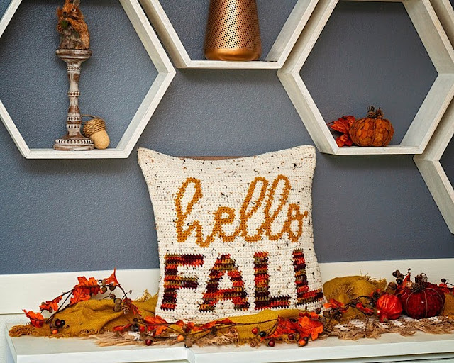 Crochet Fall Decorating Ideas