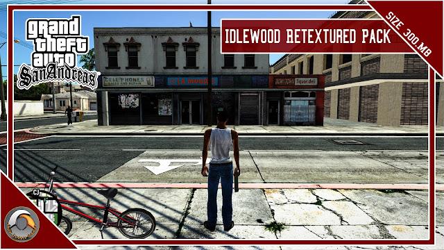 GTA San Andreas Idlewood Retextured Pack