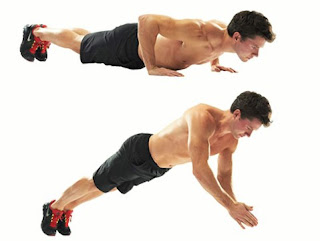 cara melakukan polimetrična push up untuk membentuk otot dada