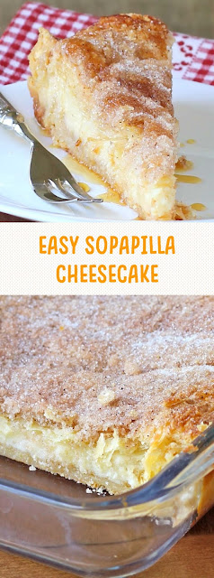 Easy Sopapilla Cheesecake