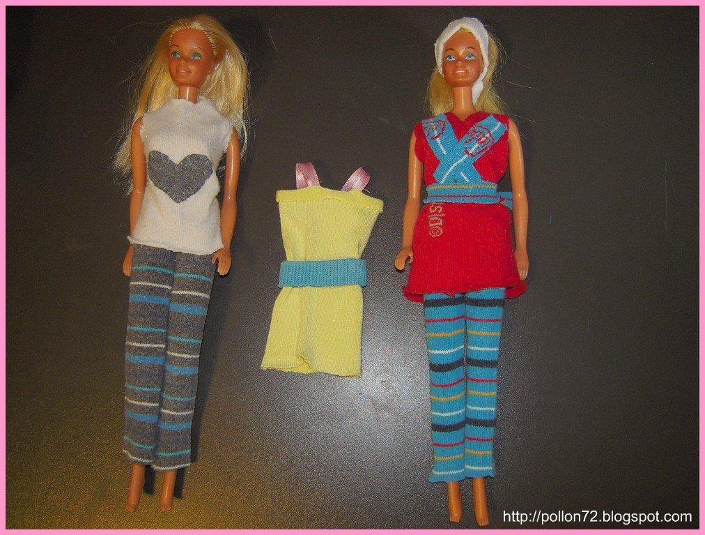 Super Mamma Claudia e le avventure del Topastro: Vestiti per Barbie e Ken WG86