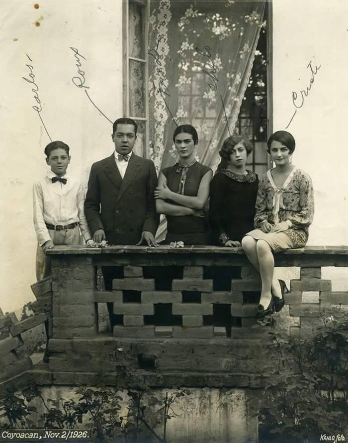 Frida Kahlo Photographs