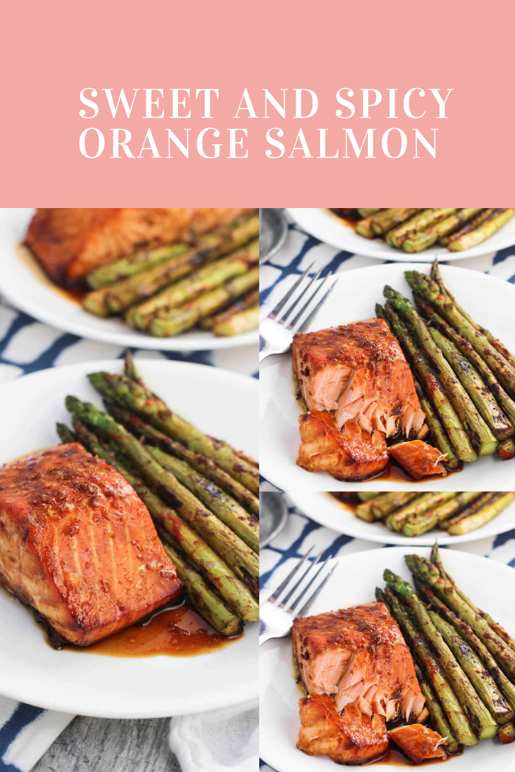 #SWEET #AND #SPICY #ORANGE #SALMON