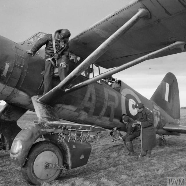 RAF Westland Lysander 12 March 1942 worldwartwo.filminspector.com