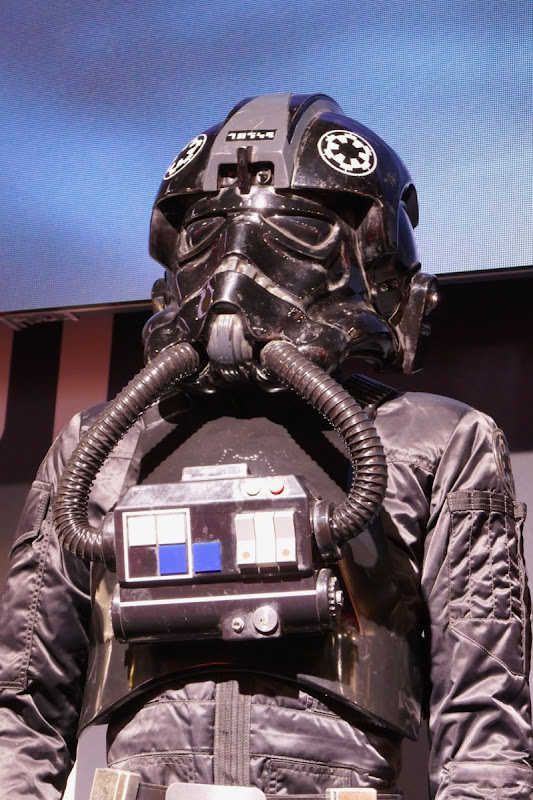 Imperial TIE Fighter pilot costume helmet Star Wars