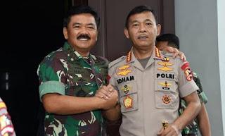 TNI-Polri Lembaga Tertinggi Dapatkan Kepuasan Publik