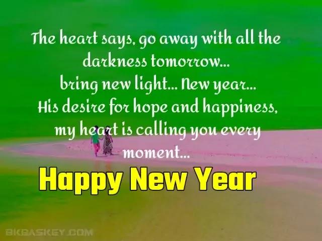 Happy New Year Status in Hindi for Whatsapp, FB & Instagram.