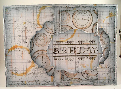 Suzz's Stamping Spot: Masculine Birthday Card