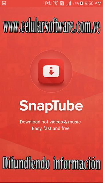 Descarga Vídeos, Música y Fotos con SnapTube