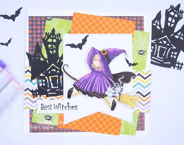 Heather's Hobbie Haven - Hattie Loves Halloween Card Kit