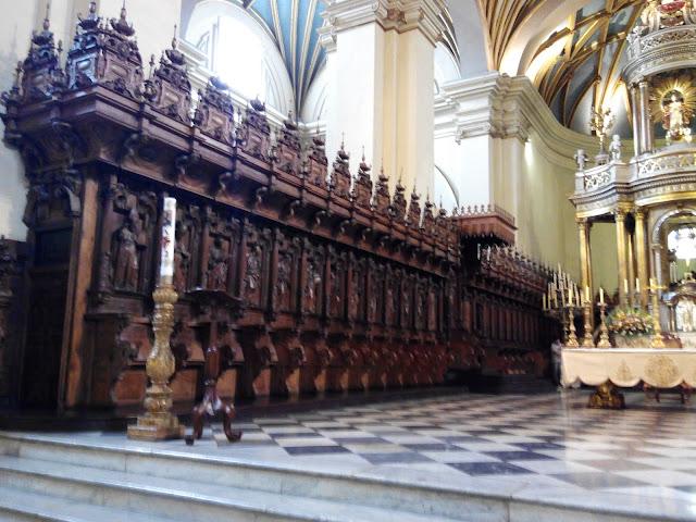 Coro de la Catedral de Lima, Perú