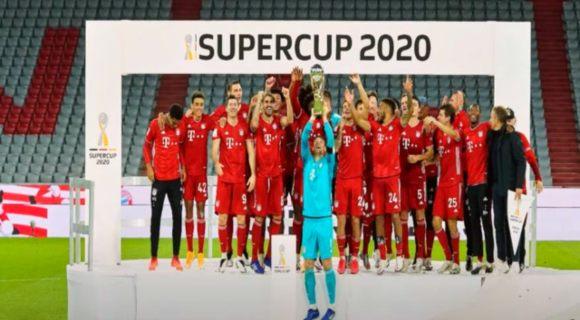 بايرن ميونخ يحقق لقب السوبر الألمانى بالفوز على دورتموند