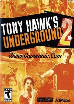 Tony Hawk Underground 2 Game Cover
