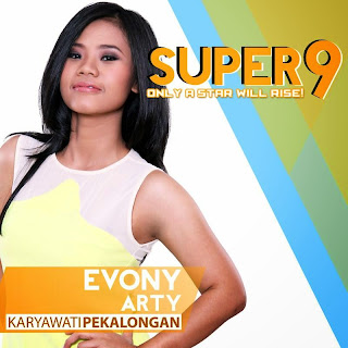 evony arty rising star indonesia super 9