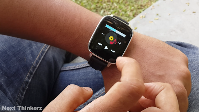 alpha watch music player