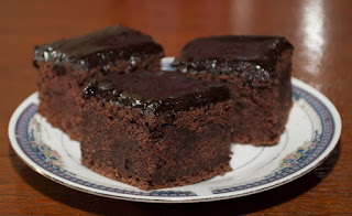 Fotografija čokoladnog kolača