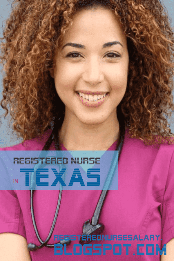 registered nurse salary in texas