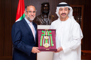 1- UAE President bestows First Class Order of Zayed II award to Navdeep Singh Suri