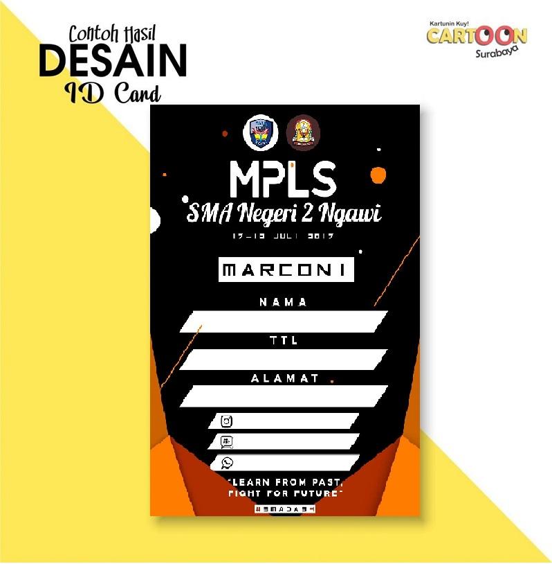 Contoh ID Card MPLS 2021