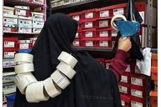 Perempuan Berkalung Lakban