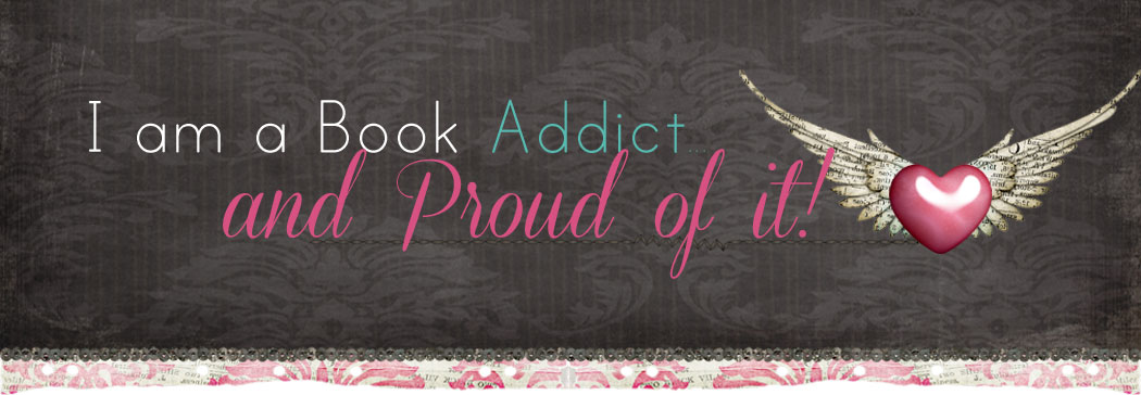 I am a book addict......and proud of it!!