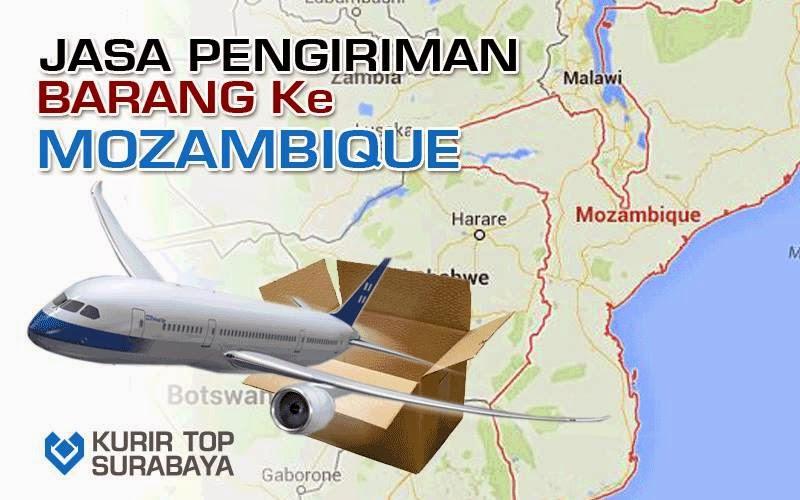 JASA PENGIRIMAN LUAR NEGERI   KE MOZAMBIQUE