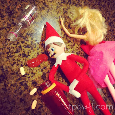 Tpcraft Com Inappropriate Elf On The Shelf Shenanigans