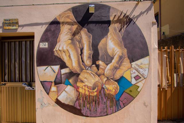 San Gavino Monreale-Murales