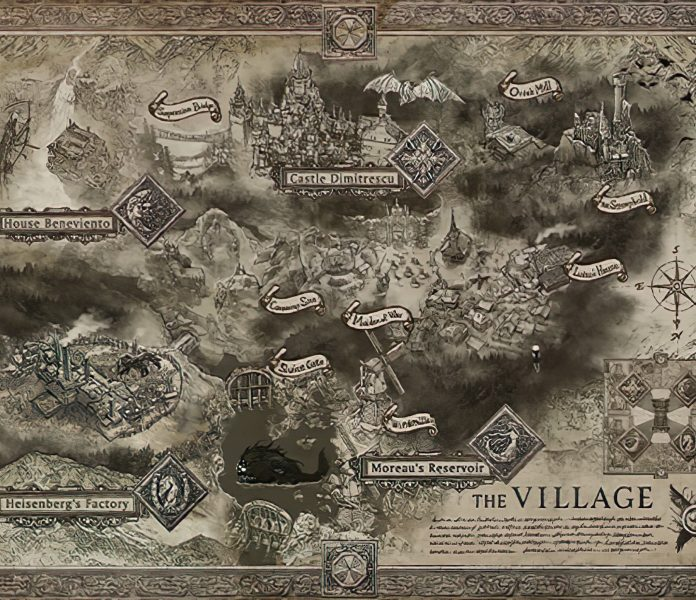 The Resident Evil Village map has been leaked.