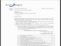 Rekrutmen Bank Nagari Teller dan Customer Service Maret 2018 Seluruh Unit Kerja Sumbar