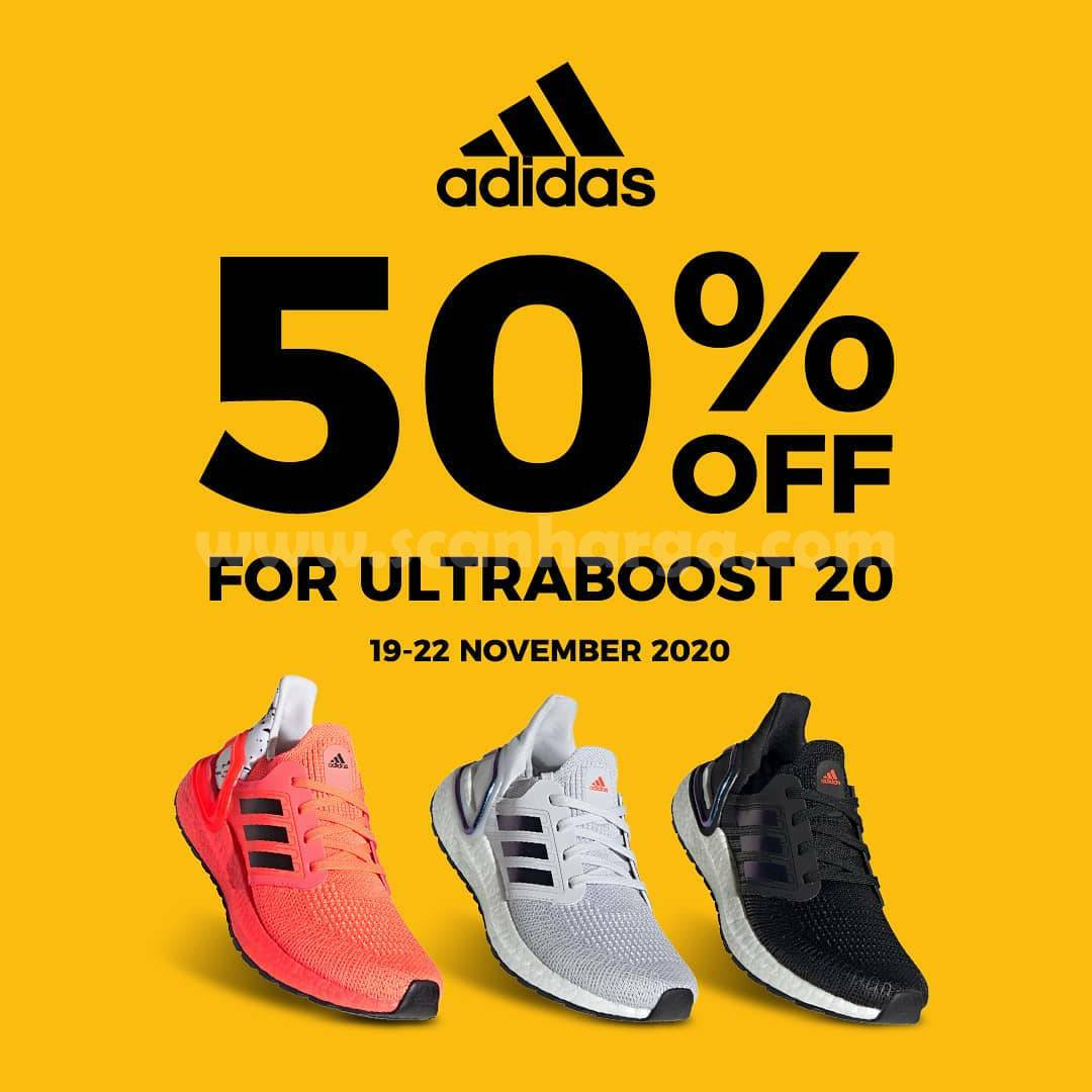 Adidas Disc 50% Off For Ultraboost 20