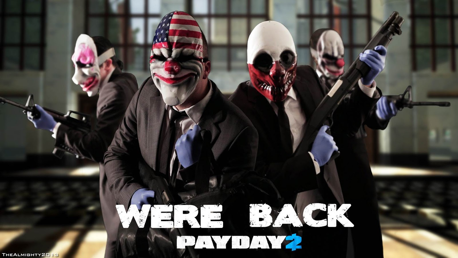PAYDAY 2 is an action-packed, four-player co-op shooter