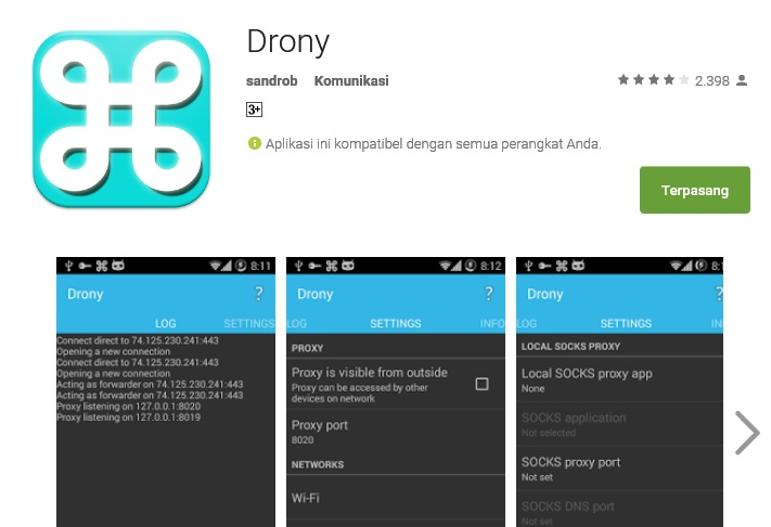 ZyverZone: Let's Try: Tutorial Mengubah Proxy Setting Di