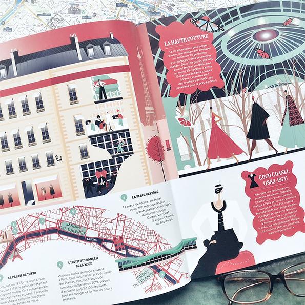 Parismania : Voyage cartographique dans la ville de lumière