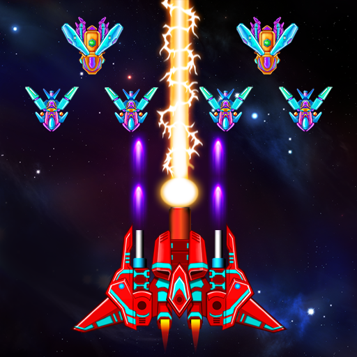 Galaxy Attack: Alien Shooter v23.4 Apk Mod [Dinheiro Infinito]