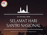 Kumpulan Kartu Ucapan Selamat, Pantun, dan Puisi Hari Santri Nasional 2019