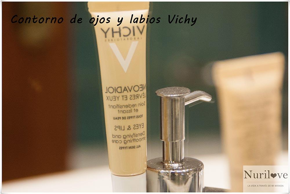 Contorno de ojos y labios de Vichy, una joya para nuestro rostro