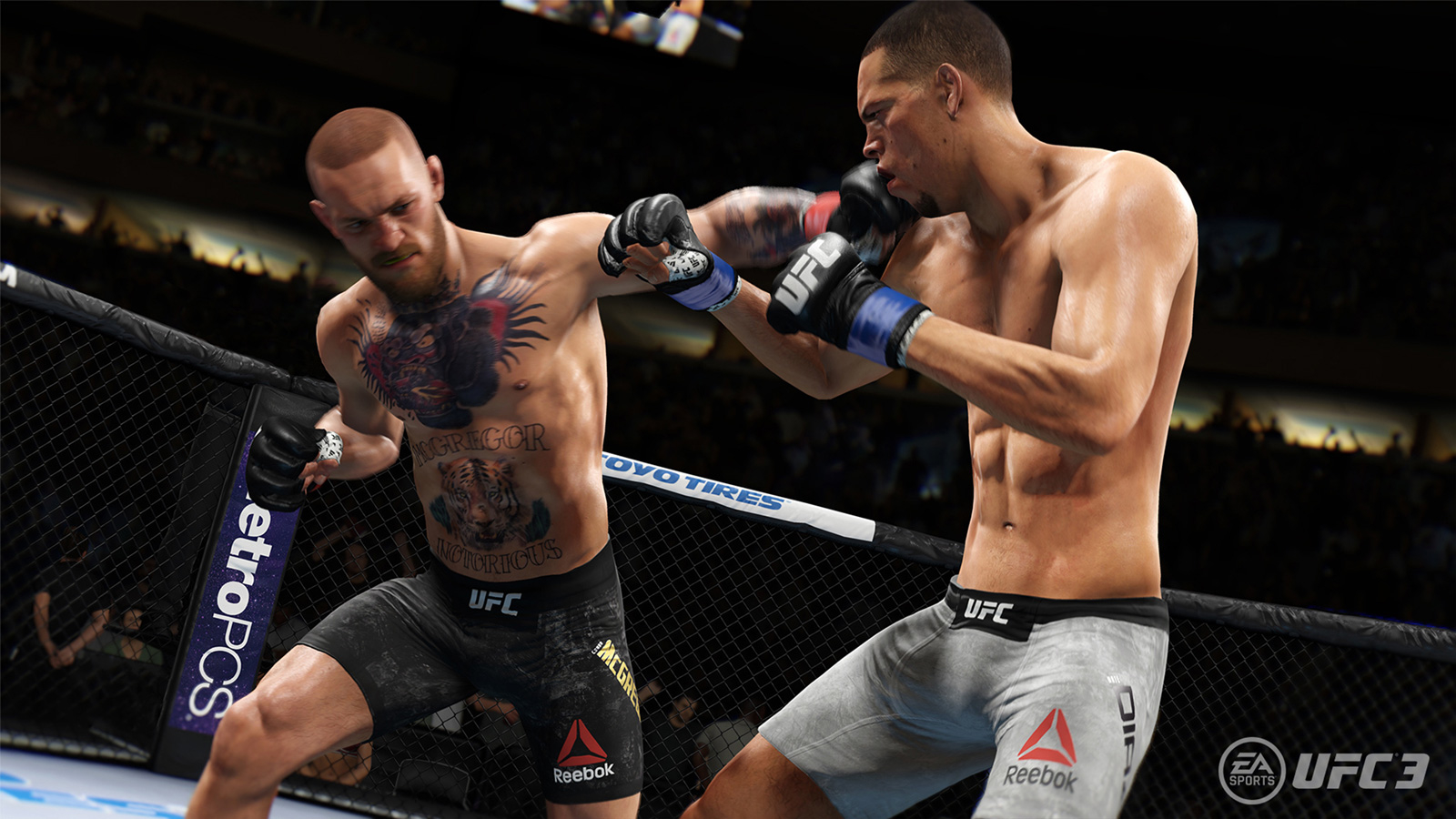 UFC 3 : EA Reveals Gameplay Trailer And Release Date.