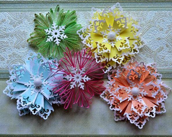 9 ideas para decorar en navidad con adornos de papel - Adornos navidenos papel ...