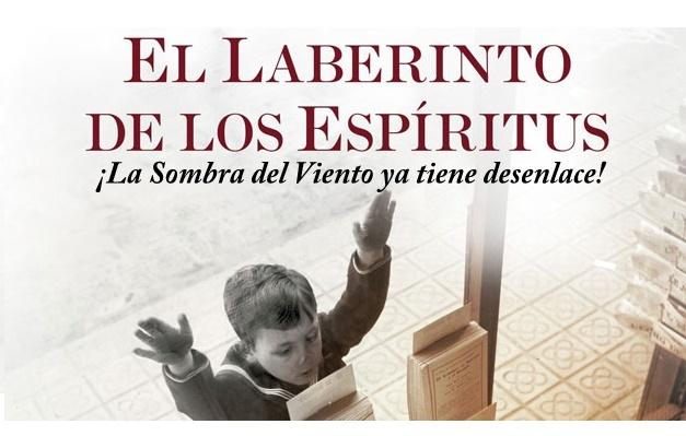 """""""EL LABERINTO DE LOS ESPÍRITUS"""", libro recomendado de Carlos Ruiz Zafón"""
